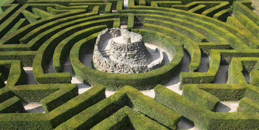 Be lost in the maze.. if you are feeling up to the challenge..?