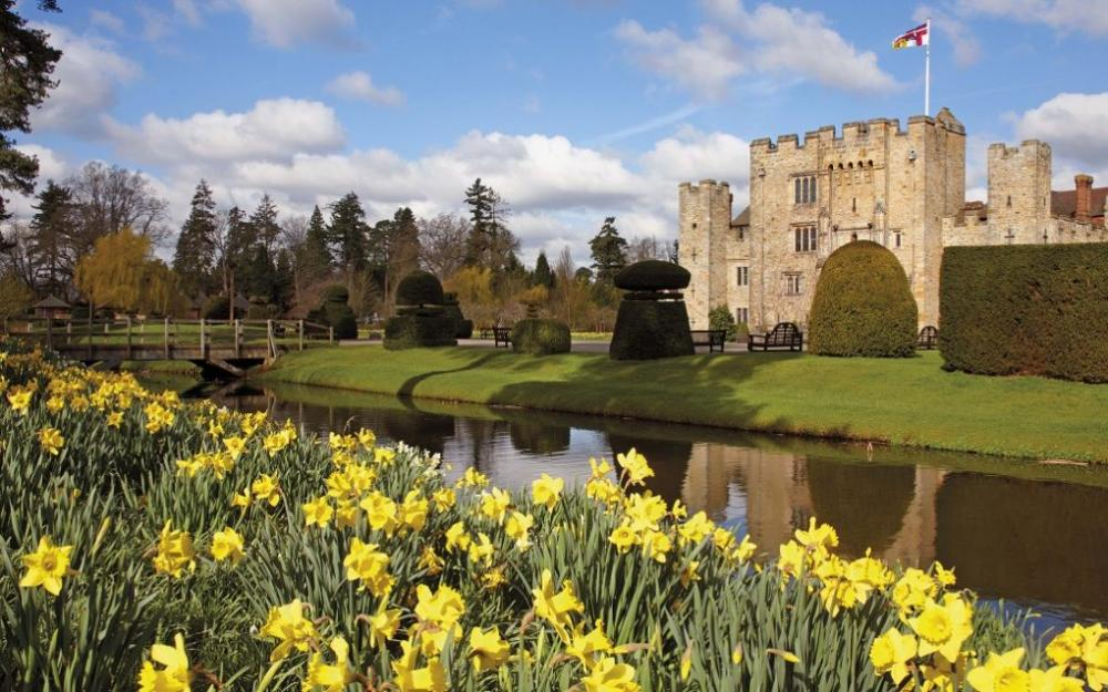 One of the most picturesque castles in England.